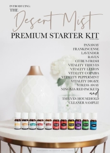 Premium Starter Kit with Desert Mist- $160